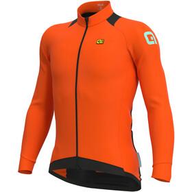 Alé Cycling Klimatik Klima Winter Maillot À Manches Longues Homme, fluo orange